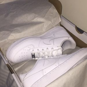 Brand new Air Force ones never worn